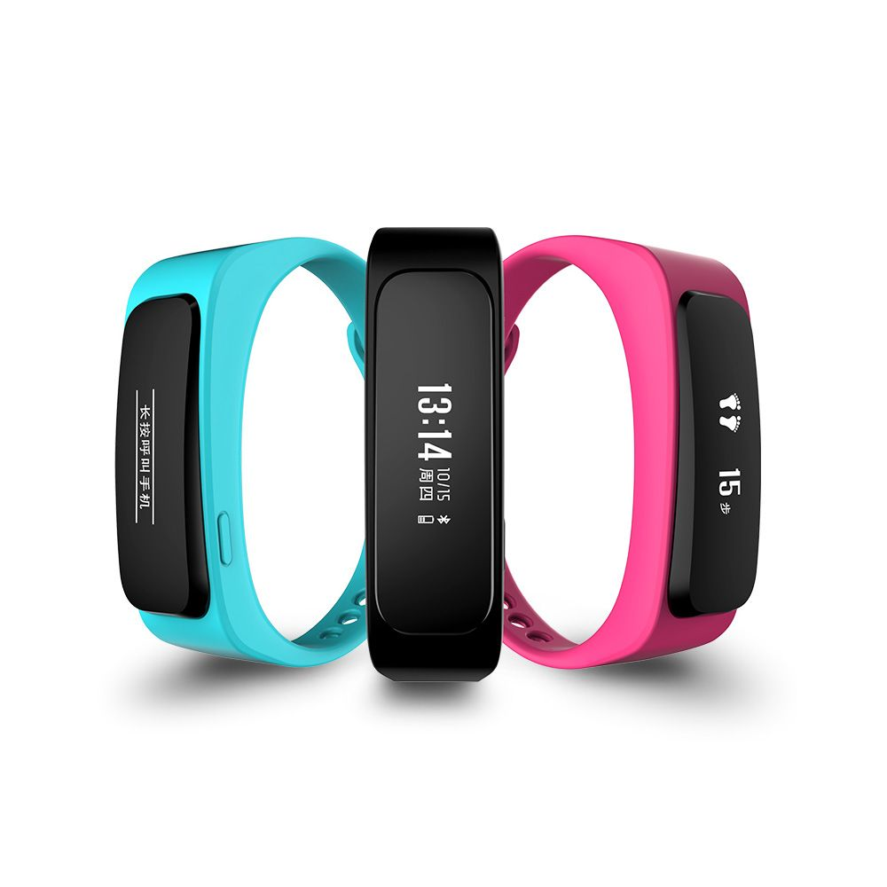 Newmine D2 Smart Wristband & Bluetooth Earphone - 2 in 1 smart bracelet can be separate to bluetooth earphone
