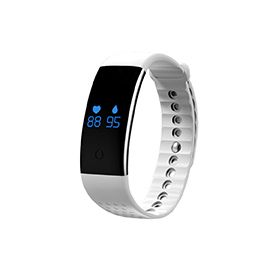 Newmine B2 Blood Oxygen Measuring Smart Bracelet Blood oxygen measuring and show the data on wristband or phone