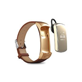Newmine B4 Smart Wristband & Bluetooth Earphone - 2 in 1 smart watch bracelet can be separate to bluetooth earphone