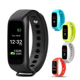 LEMFO L30t Smart Bracelet - Full color TFT-LCD screen Dynamic heart rate monitor