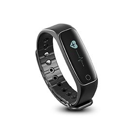 Lincass L1 Smart Wristband - Compatible with both Android and iOS smart phones