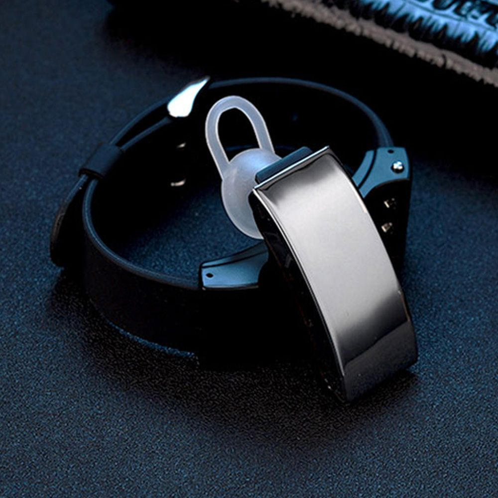 Lincass L4 Smart Band & Bluetooth Earphone - 2 in 1 smart bracelet can be separate to bluetooth earphone