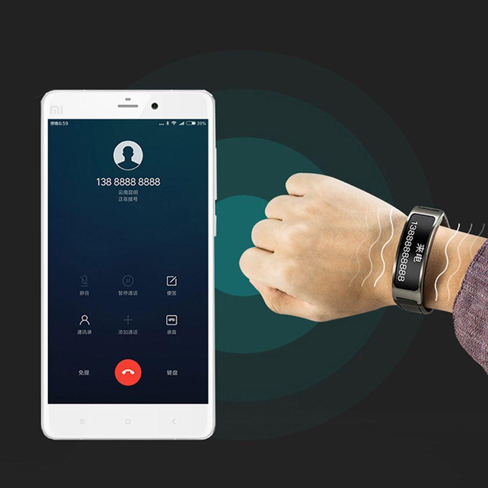 Lincass L5 Blood Oxygen & Pressure Measuring Smart Bracelet - Advanced fitness tracker for more monitor