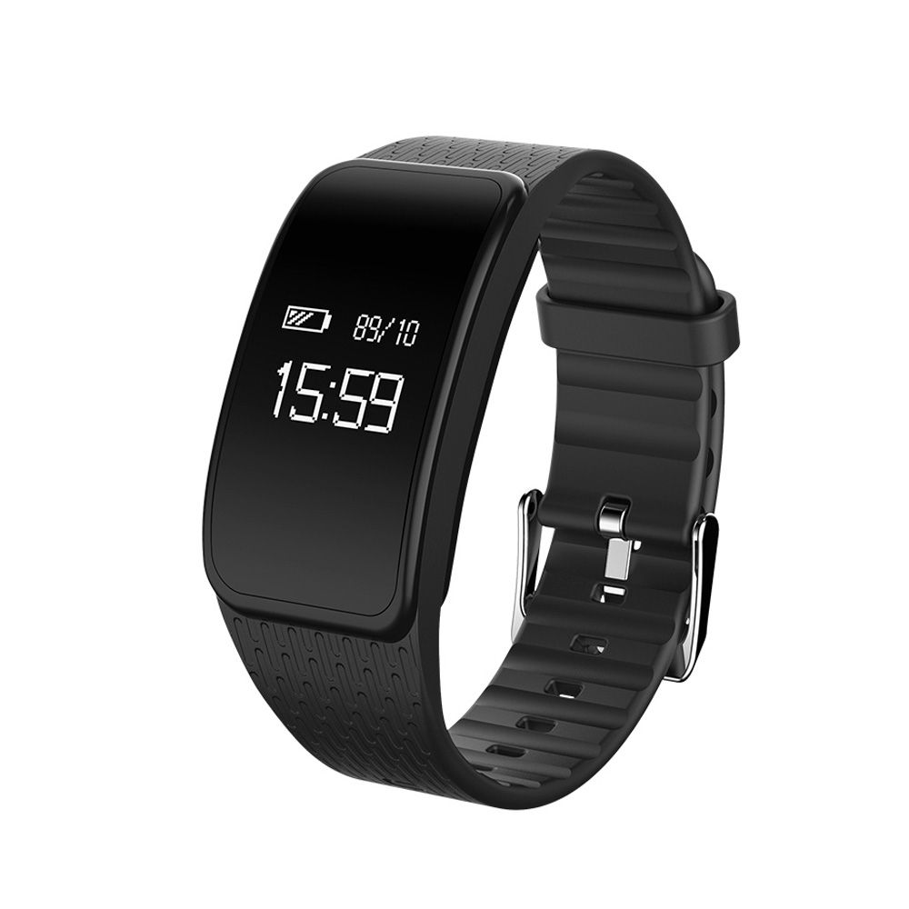 Junmi D58 Fitness Tracker - Heart rate monitor Blood pressure measuring Smart bracelet