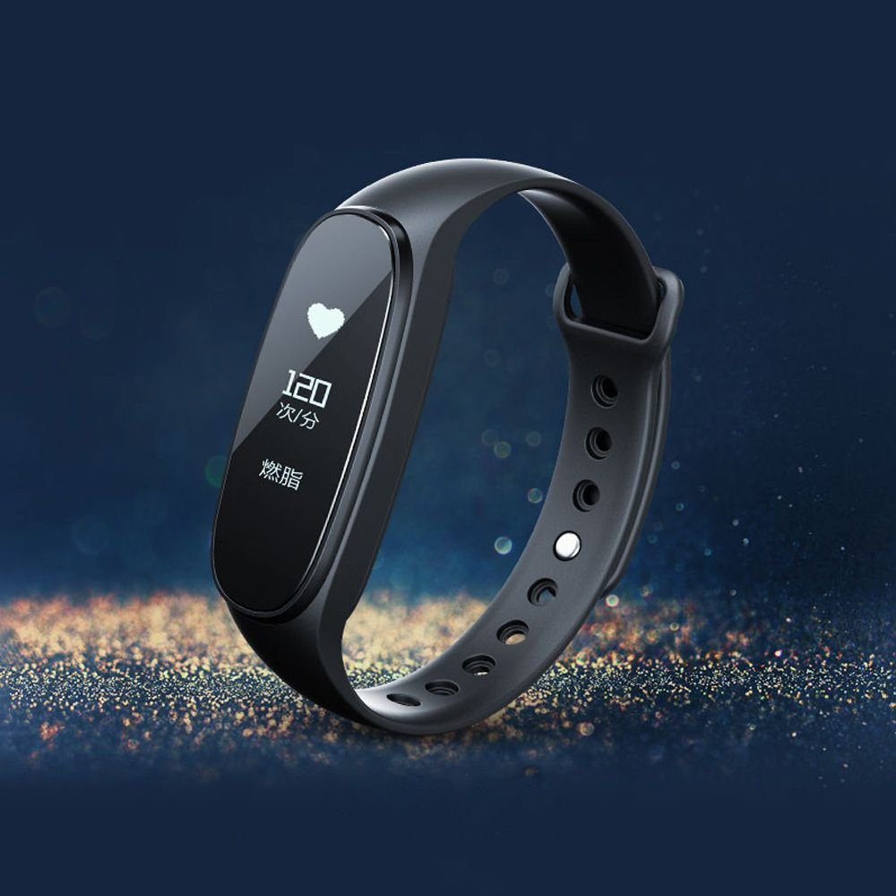 Bong 3 HR Smart Wristband - 0.91 inch OLED screen Heart rate sensor Sleep monitor Step tracker