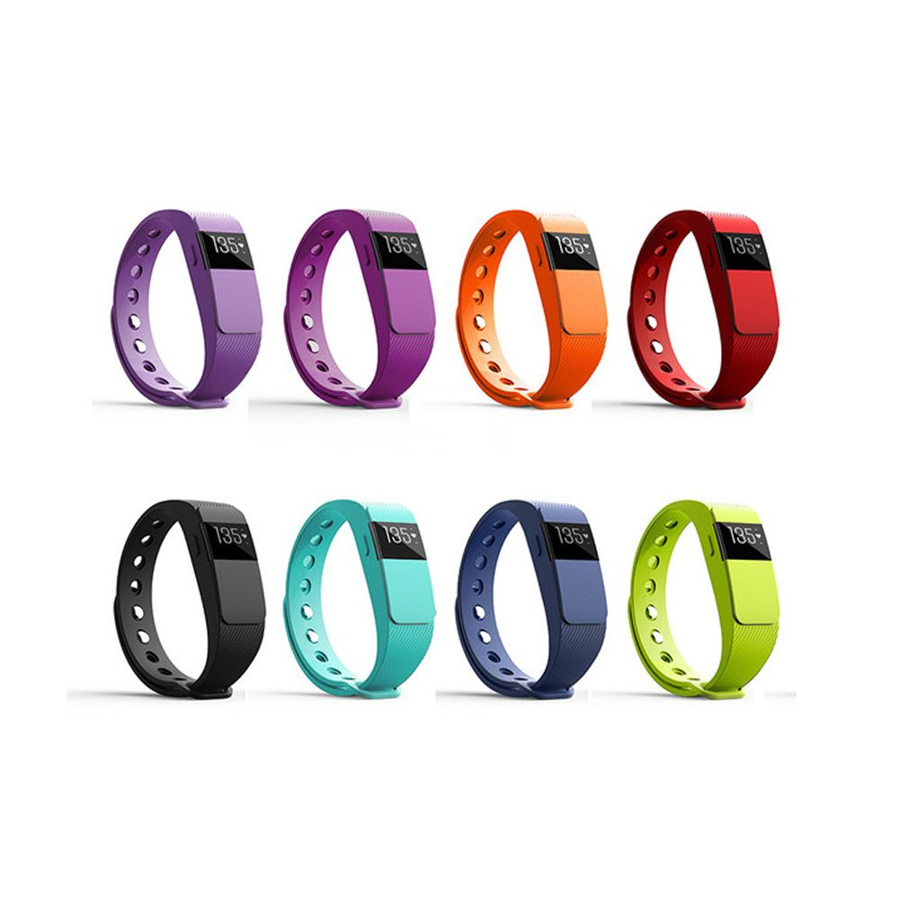 IDO ID 111HR Heart Rate Smart Bracelet - 24h real time heart rate monitor, Auto sleep monitor, All-day activity track, Anti-lost