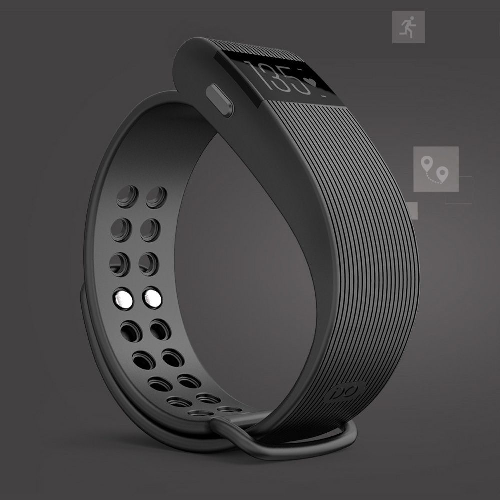 IDO ID 105HR Heart Rate Smart Bracelet - Heart rate, Activity, Sleep monitor