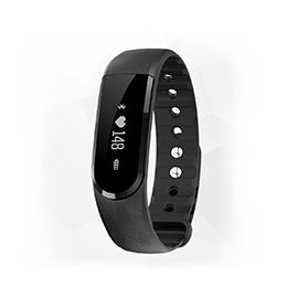 IDO ID 101HR Heart Rate Smart Bracelet - Heart rate, Music control, Sleep monitor, 0.91