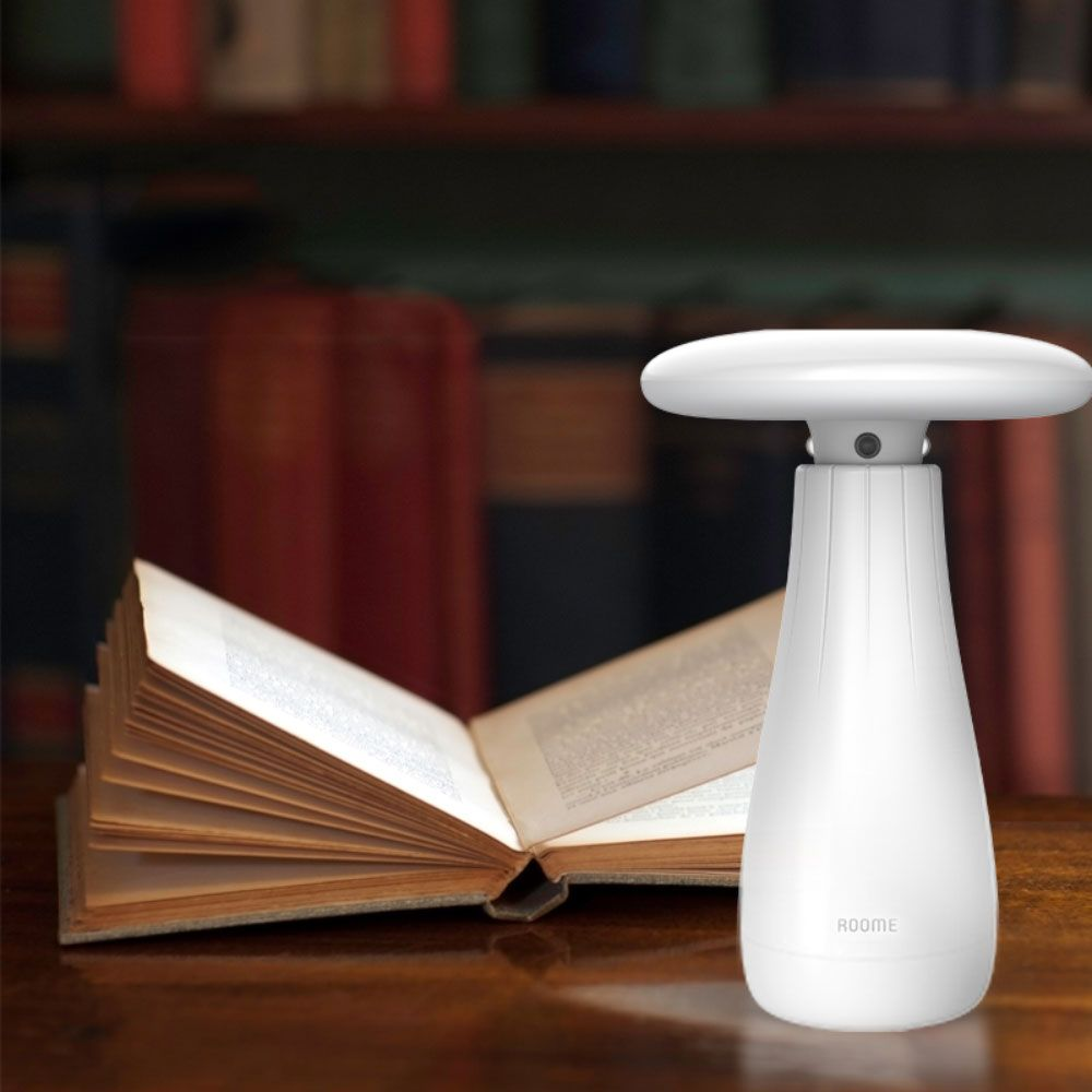 Roome Gesture Controlled Smart Lamp - Motion sensor, Automatically turn on or off, Ambient light sensing