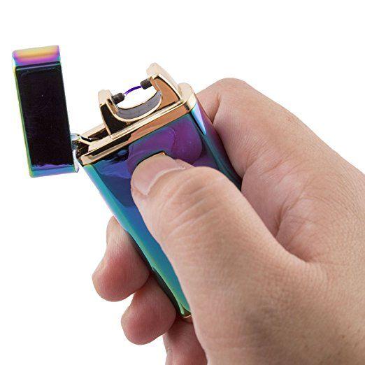 Tesla Lighters USB Rechargeable Windproof Arc Lighter
