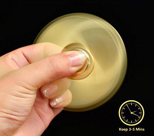 Topsense Fidget Spinner with USB Lighter - Multipurpose Hand Spinner Electric Coil Lighter,Windproof Flameless Plasm Lighter Topsense®(Gold)