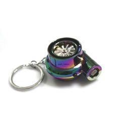 SportMotors Rechargeable Electric Turbo Lighter - keyring keychain has LED light and BOV sound