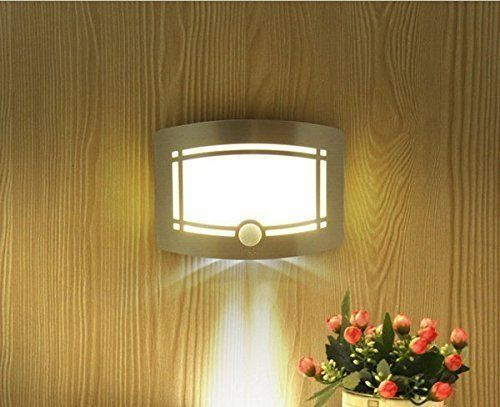 OxyLED T-03 Motion Sensor LED Wall Sconce Night Light - Luxury Aluminum Stick Anywhere