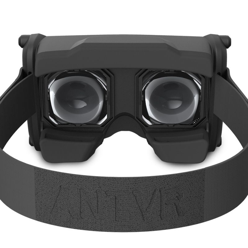 ANTVR JiTao Virtual Reality 3D Glasses - Virtual reality headset with 100 FOV IPD adjustable distortion-free for 4.5-6inches mobile phones
