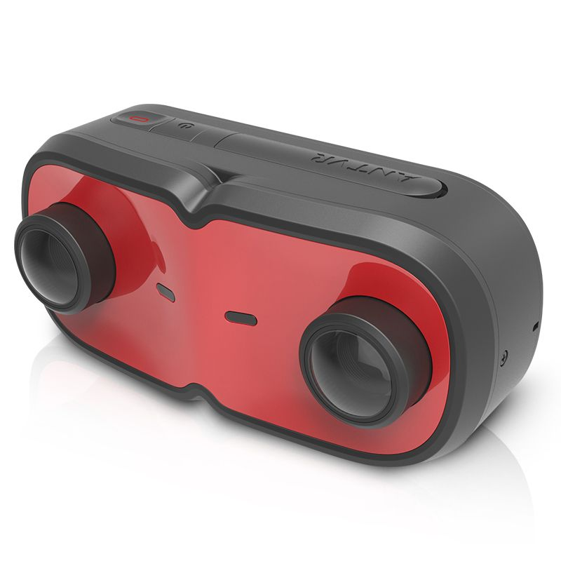 ANTVR Cap 3D Sport Action VR Camera - Dual-cam 3D,Rendering anti-shake,360 degree video camera,4K resolution,Waterproof IP68