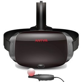 ANTVR Kit 2 VR Virtual Reality Headset for PC - 2K resolution,90 Hz refresh rate,Dual VR screen,Built-in earphone,Support Steam