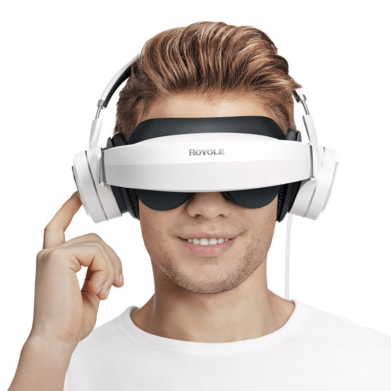 Royole Moon 3D Virtual Mobile Theater - 3D virtual reality headset with giant 800
