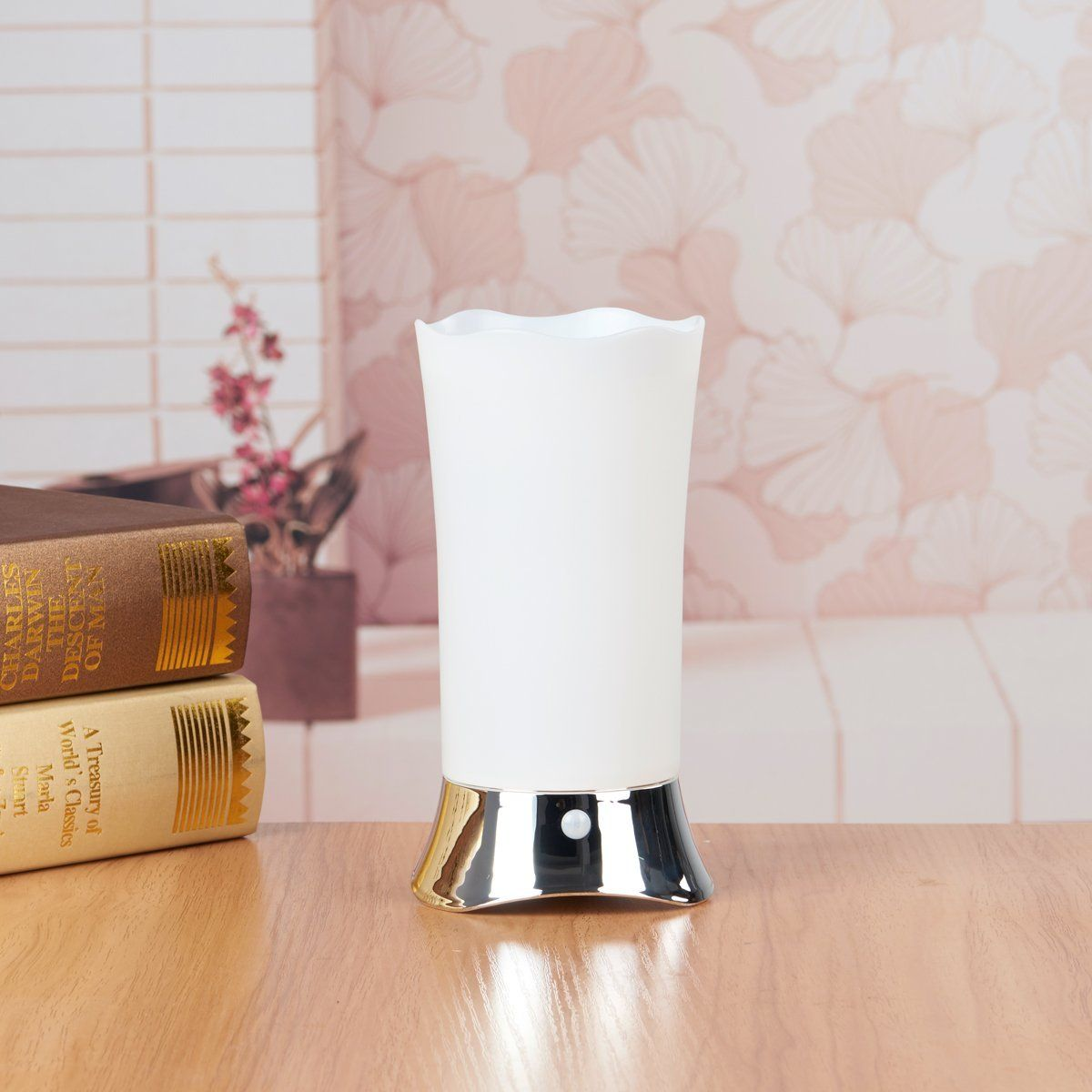 Battery operated table lamps indoor - Zeefo Table Lamps Indoor Motion Sensor Led Night Light Portable Retro Battery Powered Light For