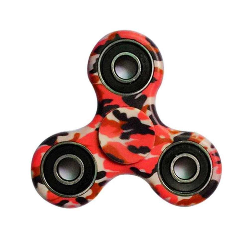 Sunrisetop Fidget Hand Spinner Toy Camouflage - Carton Package Ceramic Bearing Fidget Toy Stress Reducer Hand Spinner Fidget Toy