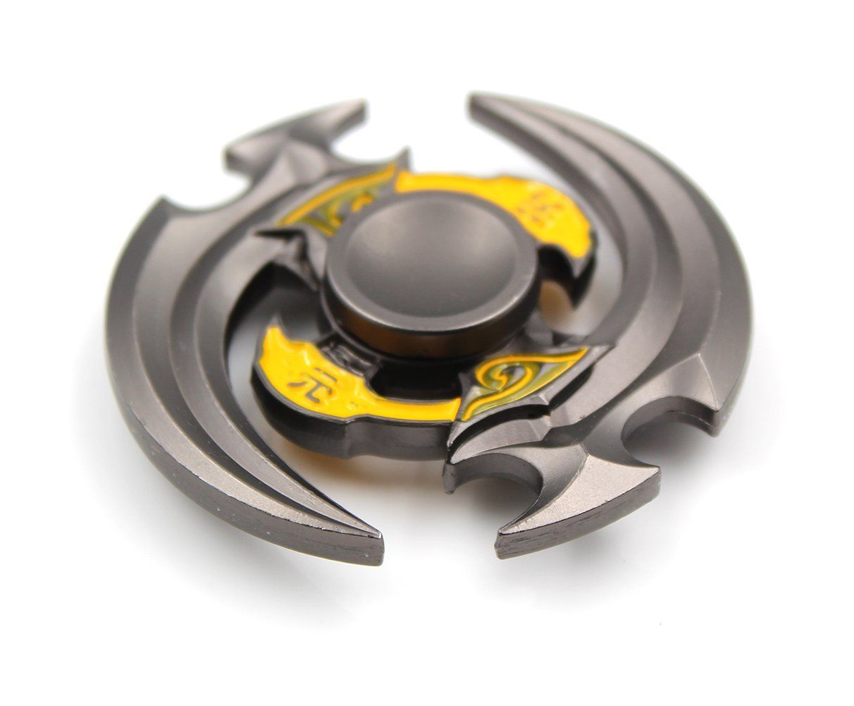 heytech Metal Fidget Spinner Hand Spinners - Fidget Toy EDC Hand Spinner Ultra Durable Zinc Alloy Made