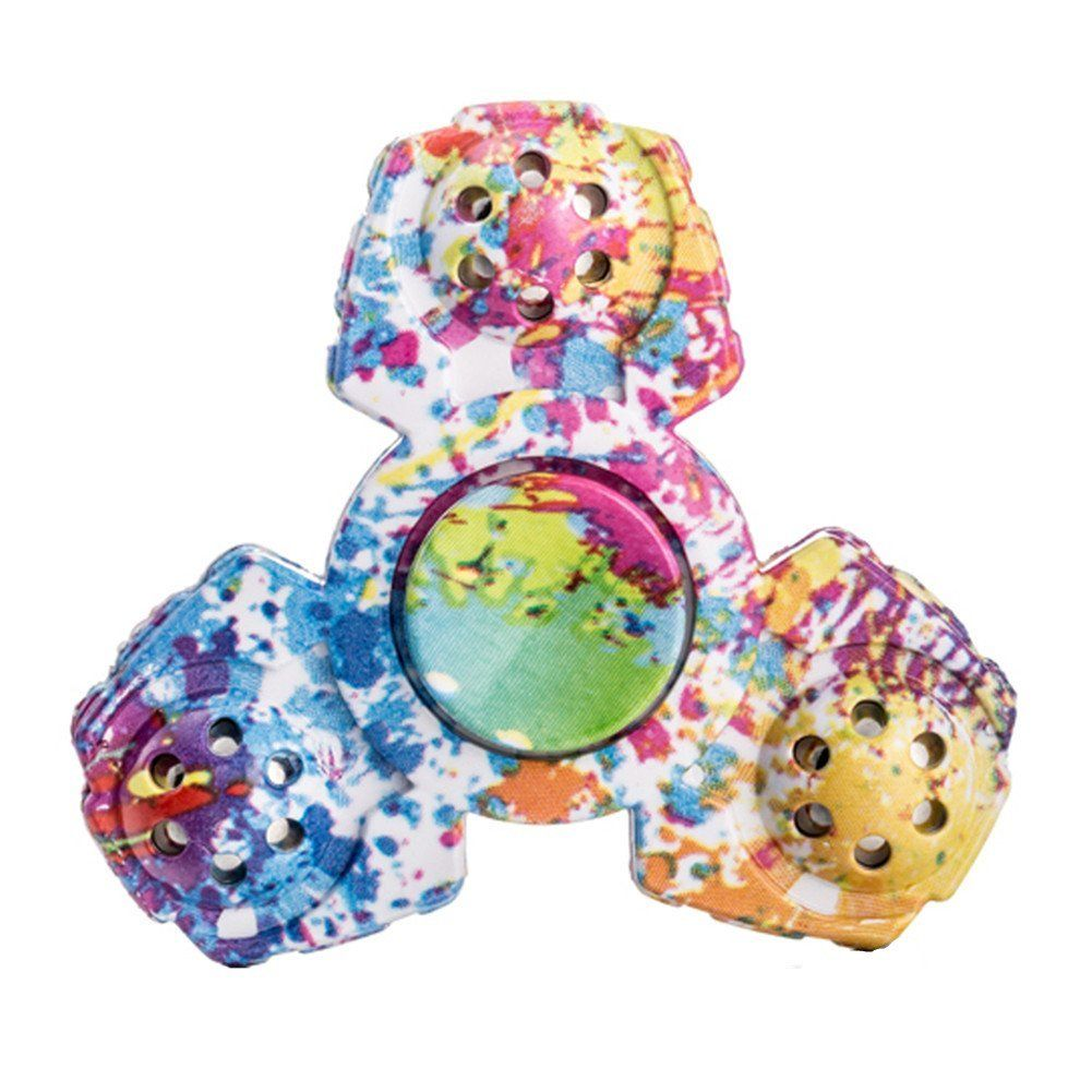 Meishatong Anti-Spinner New Style Fidget Hand Spinner - Stress Relief Anxiety Stress Relief Toy (Multi-Colour)