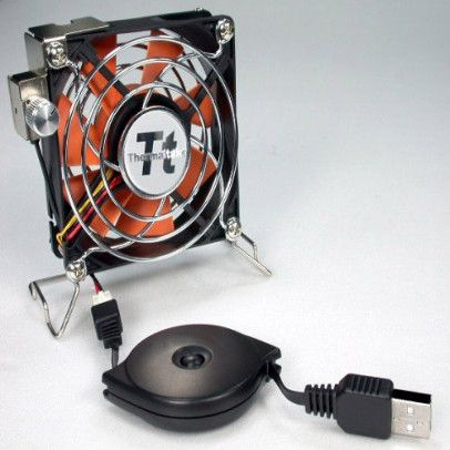 Thermaltake Mobile Fan II External USB Cooling  Fan - Us