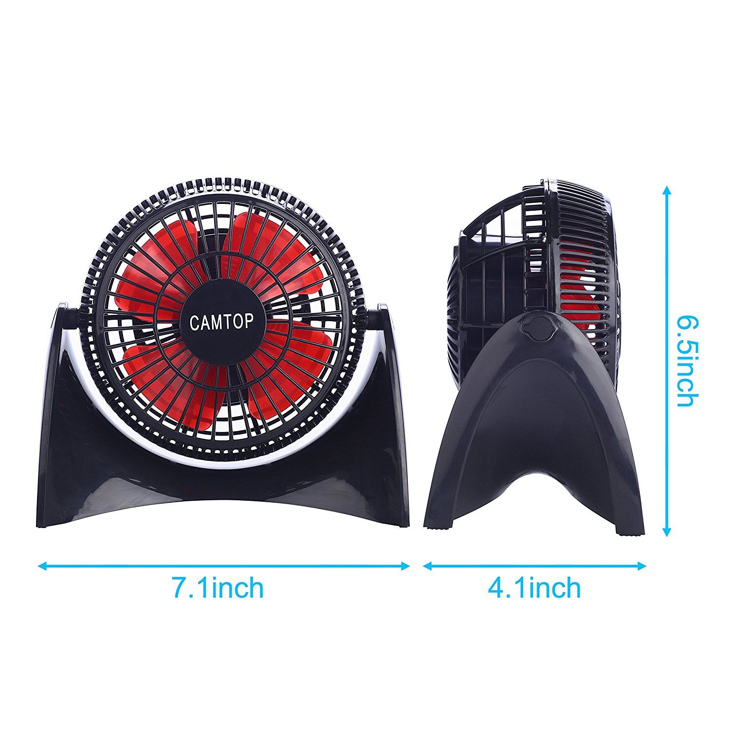 Desk USB Fan with 2 Speed 5