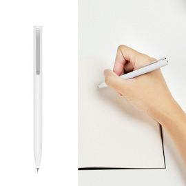 Xiaomi Mijia 0.5mm White Signature Pen PREMEC Switzerland refill, Japan imported ink, 0.95mm comfortable grip,120 degrees rotation