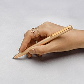 Xiaomi Mijia Metal Signature Pen - PREMEC Switzerland refill, 0.5mm high-precision tungsten ball tip,180 degrees spin,Automatic touch rebound