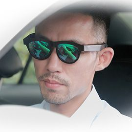 Wakeman Bone Conduction Bluetooth Anti-sleep Smart Sunglasses - Open ear conduction headphones support hand-free calls