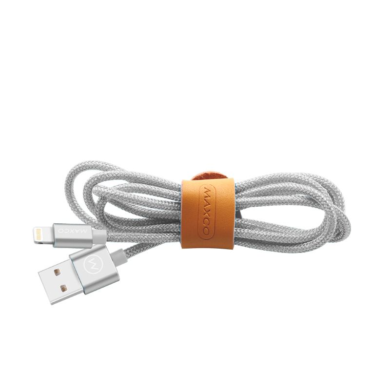Apple MFI Certified Lightning to USB Cable 3.3Ft/1m (White)