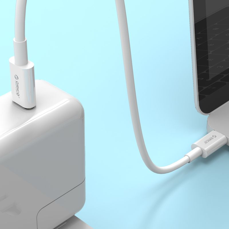 3.1 USB-C to USB-C Charge & Sync Cable 3.3Ft/1M (White)