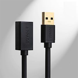USB 3.0 Type A Male to Female Extension Cable 3.3Ft (Black)
