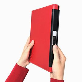 FPlife Lockbook Fingerprint Lock Notebook - Integrate fingerprint technology to your life