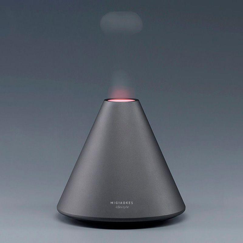MIGIAOKES Creative Flame Ultrasonic Cool Mist Humidifier