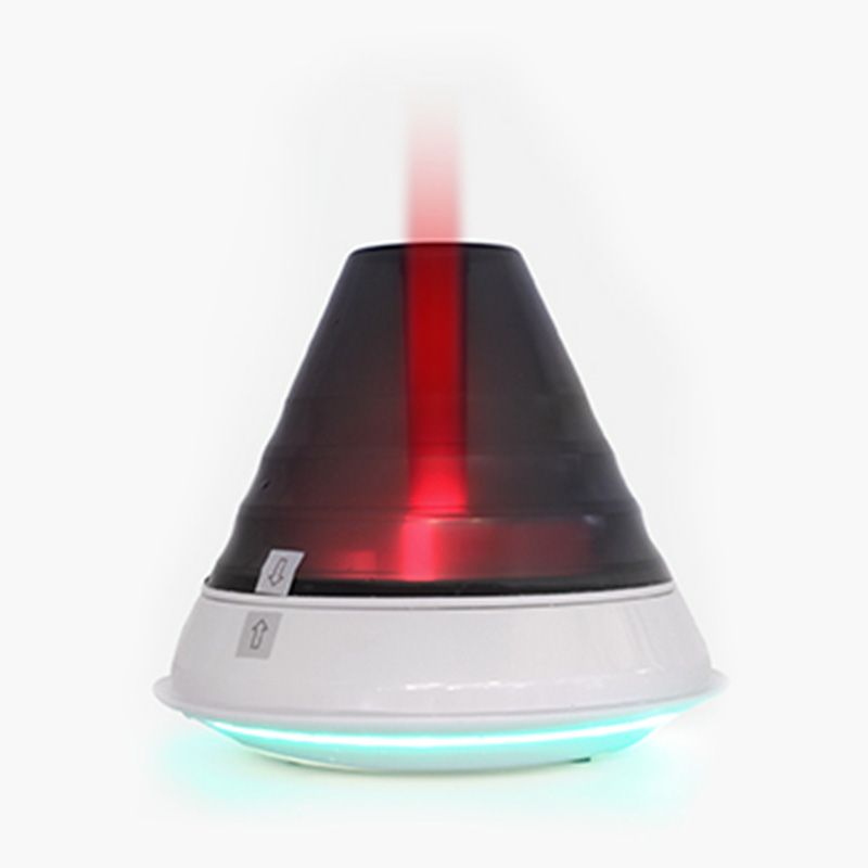 MIGIAOKES Creative Flame Ultrasonic Cool Mist Humidifier - Unique Flame Design, 1.5 L Water Tank, Automatic Shut-Off, and Night Light Function