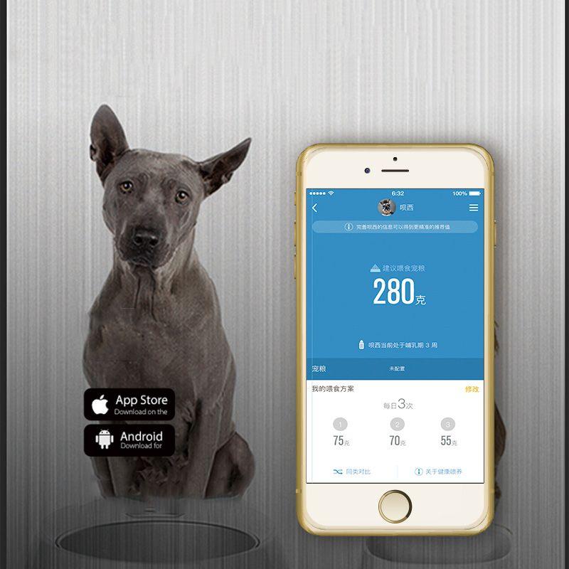 PETKIT FRESH Smart Digital Feeding Pet Bowl for Big Dogs