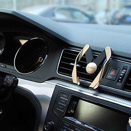 AutoBot Universal Car Air Vent Mount Phone Holder - Adjustable Bracket Stand Fit for Most Smartphones