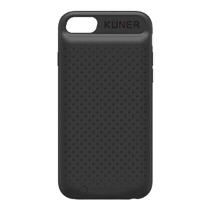 Kuner Kuke iPhone 7Plus/6S Plus/6 Plus Universal Battery Case (Black) - provides full case protection and the extra battery life for iPhone 7Plus/6S Plus/6 Plus