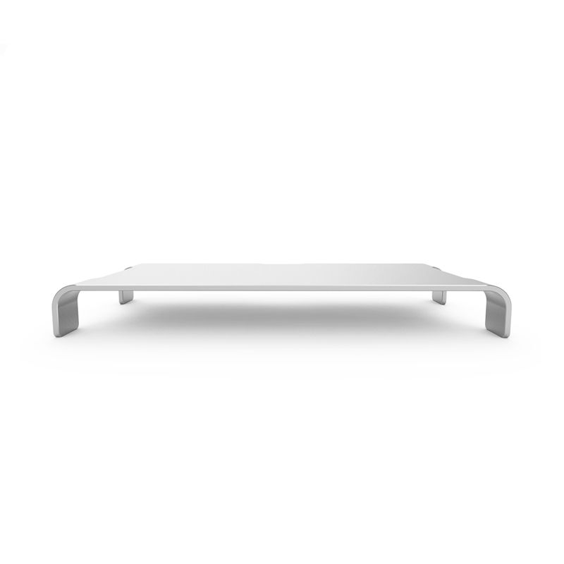 iQunix Spider Thick Aluminum Monitor Stand (Silver)