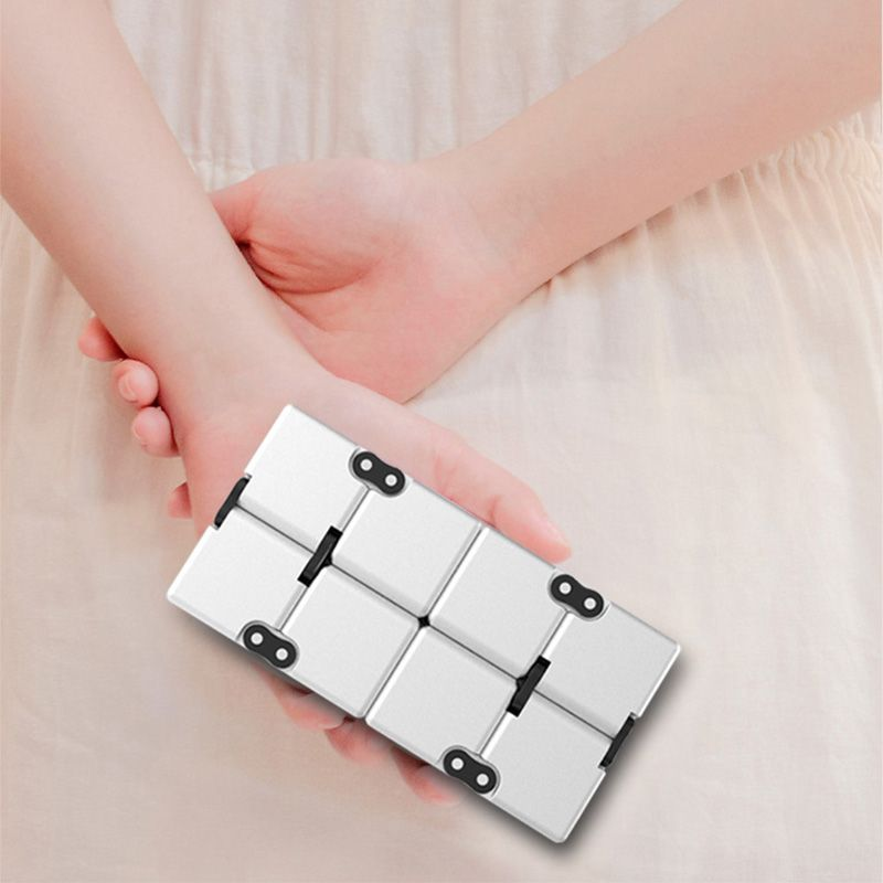 Infinity Cube EDC Fidget Toy for Stress and Anxiety Relief -  Killing Time Toys For ADD, ADHD, Anxiety, and Autism Adult and Children