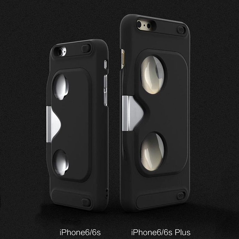 Camdora Portable 3D VR Case for iPhone - VR Cover Case for iPhone 6/6S and iPhone 6 Plus/6S Plus