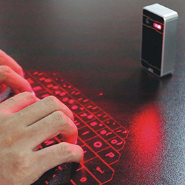 GEECR Bluetooth Projection Keyboard