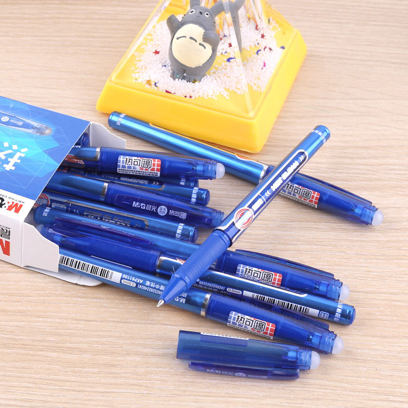 M&G Hot Clean Erasable Gel Ink Pen(6 Pcs/12Pcs)