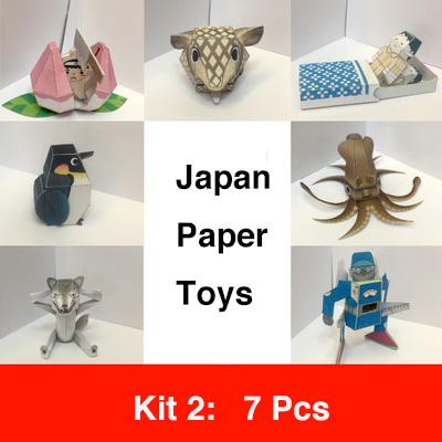 Japan Nakamura Paper Toys Kit