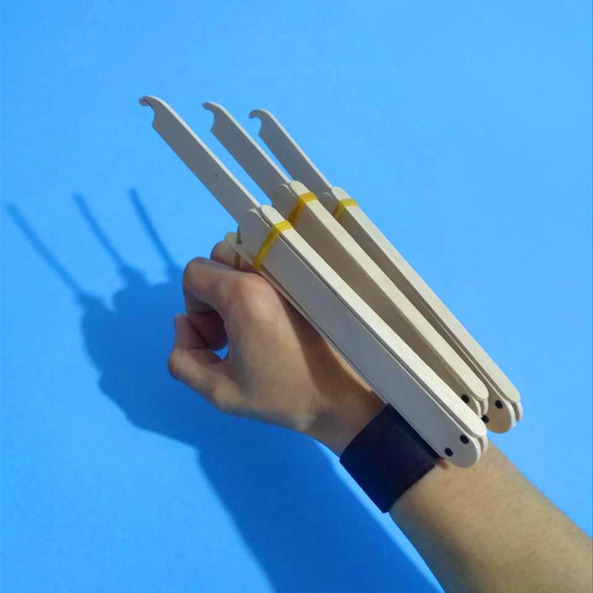 DIY Logan X-Men Wolverine Automatic Claws