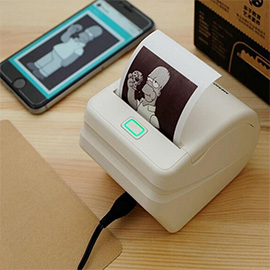 MEMOBIRD G1 Photo Thermal Printer - with Micro USB interface and WiFi function, Supports wireless remote print by mobile phone APP