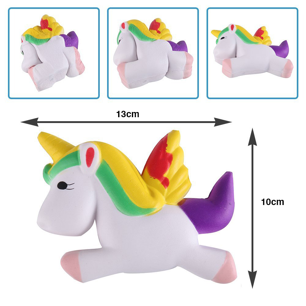 Jumbo Squishies Squeeze Kids Toy Unicorn - Cream Scented Very Squishy Slow Rising Squeeze Kids Simulation Toys for Stress Relief