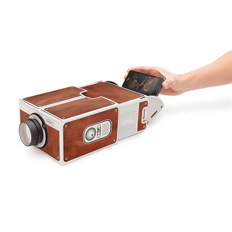 DIY Cardboard Projector
