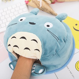 USB Mouse Pad Warmer - New plush USB heating warm hand mouse pad